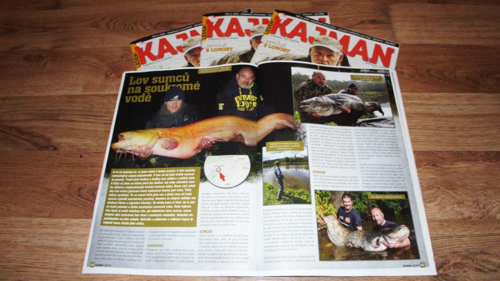 Článek o Sumčáku v aktuálním čísle Kajmanu (leden 2015)