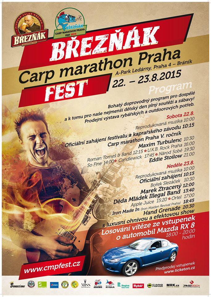 Pozvánka na príma taškařici, kterou pro vás připravuje náš partner – carp marathon praha