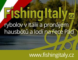 Právě byl spuštěn nový web našeho partnera – fishingitaly.cz