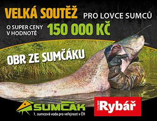 Časopis Český Rybář a Sumcak.cz startují parádní soutěž!!